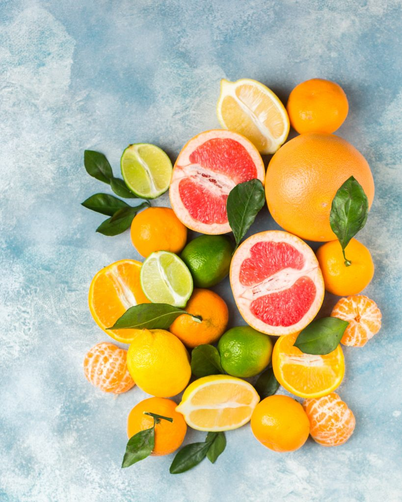 cut citrus food to boost immune system
